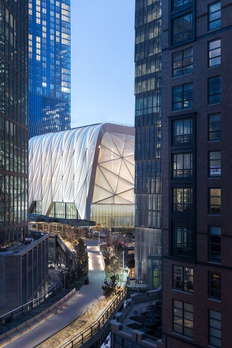 Contemporary Architecture in New York - The Shed