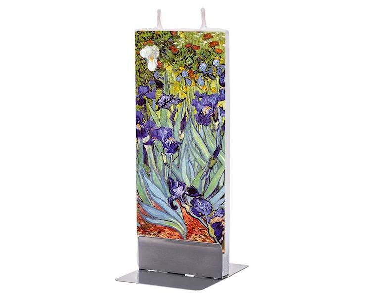 Irises Candle