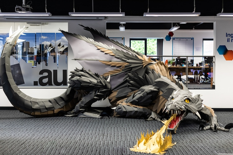 Game of Thrones Inspired Dragon Art