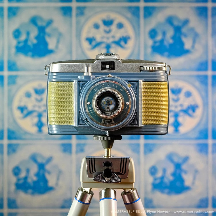 cámaras antiguas CameraSelfies por J. F. Novotny