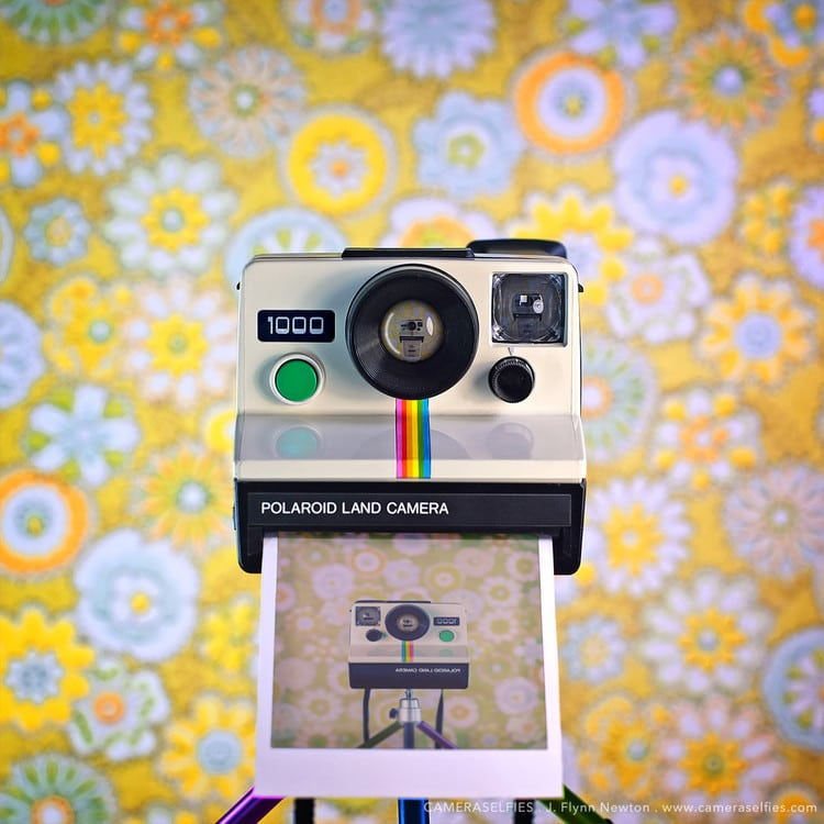 polaroid vintage CameraSelfies by J. F. Novotny