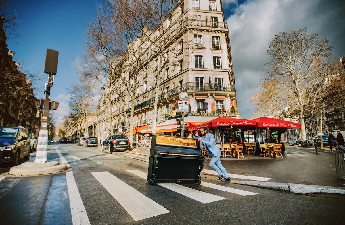 Fotos de boda románticas en París por Priscila Valentina