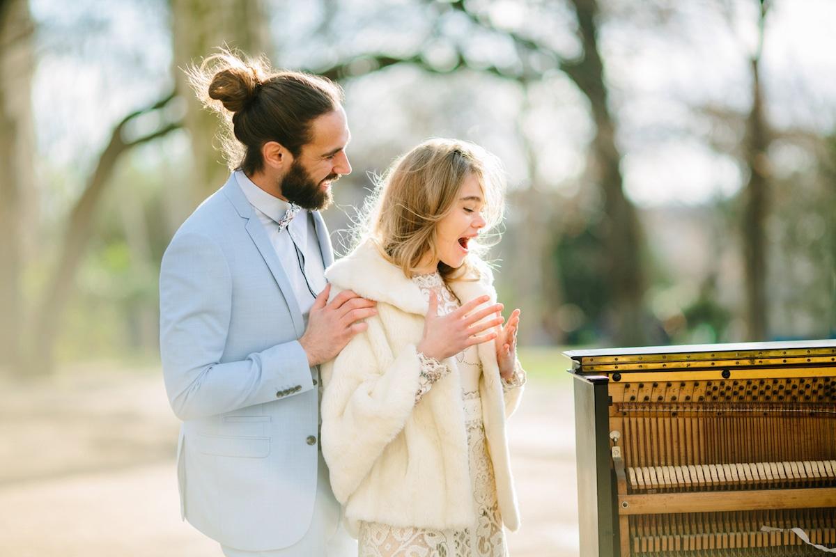 Fotos de bodas románticas en París por Priscila Valentina