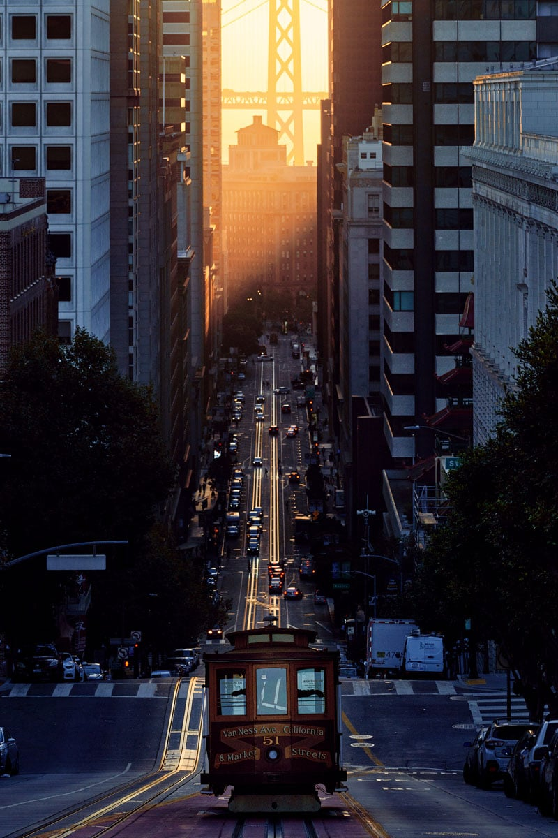 San Francisco Cable Car Photo by Adrien Le Falher