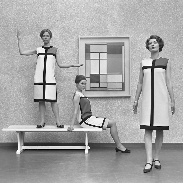 Colección Mondrian de Yves Saint Laurent