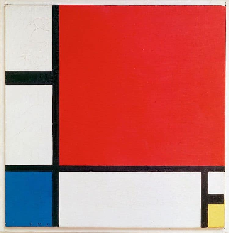 Abstract Art by Piet Mondrian