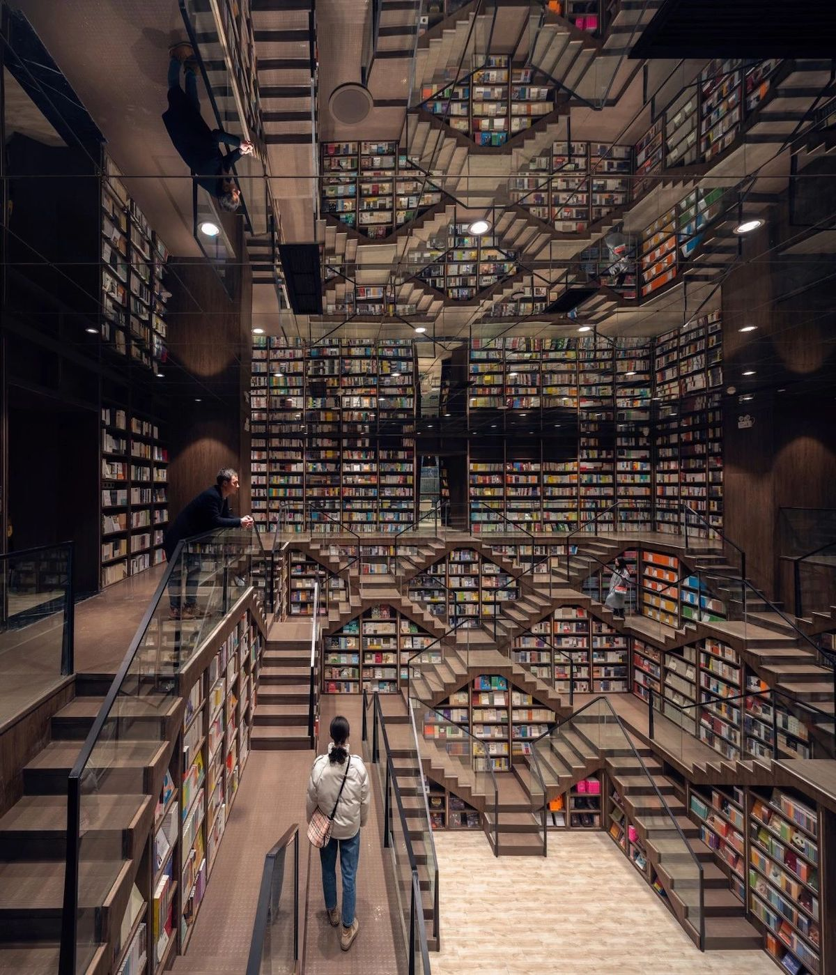 Incredible Bookstore in China