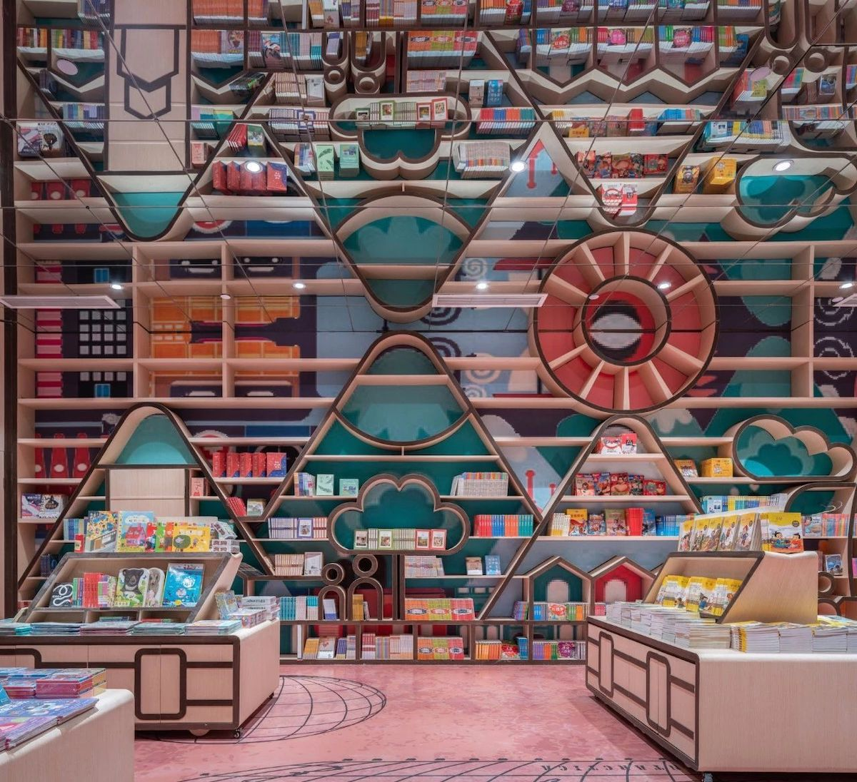 Children's Bookstore Interior
