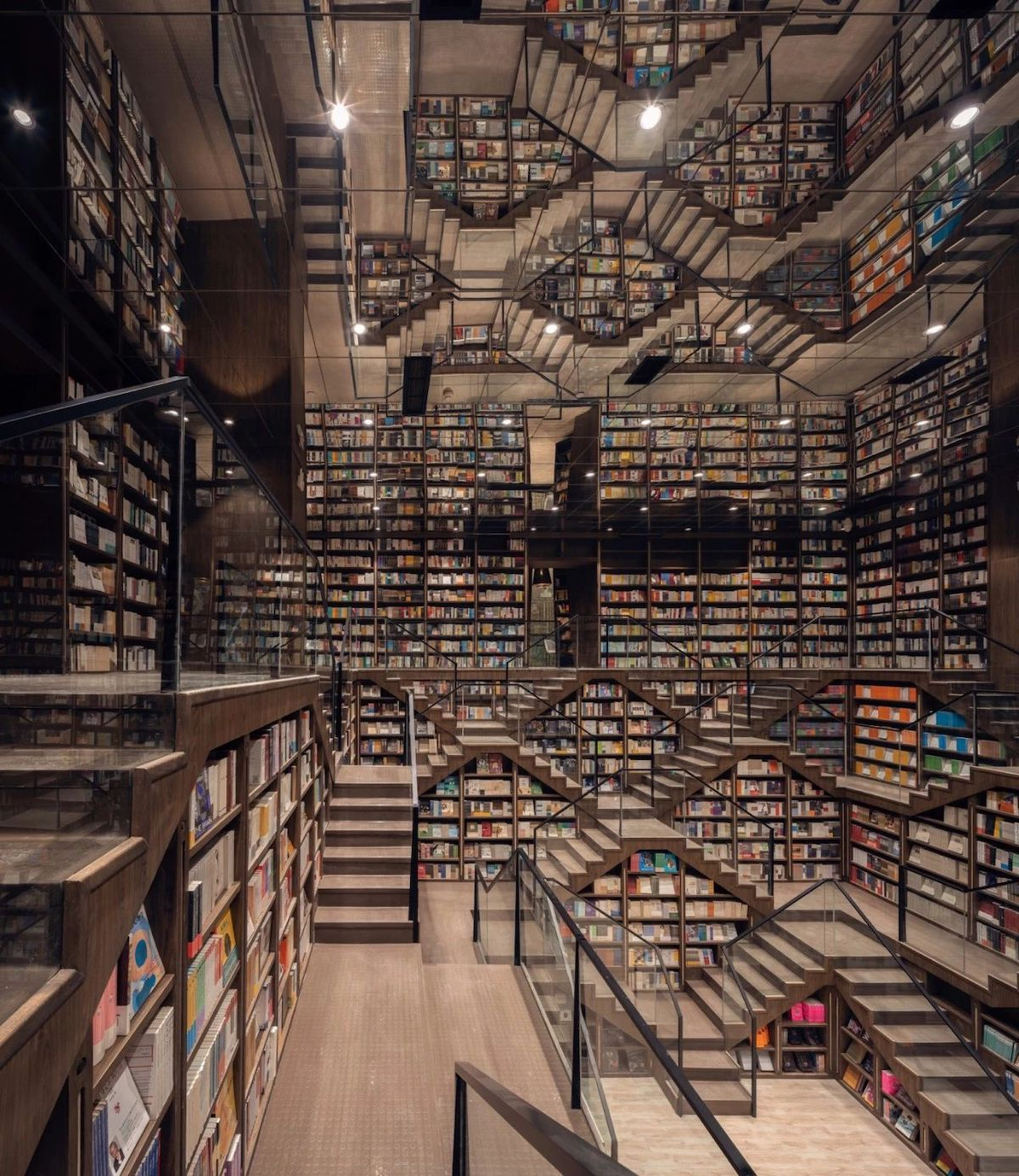 Zhongshuge Bookstore by X-Living