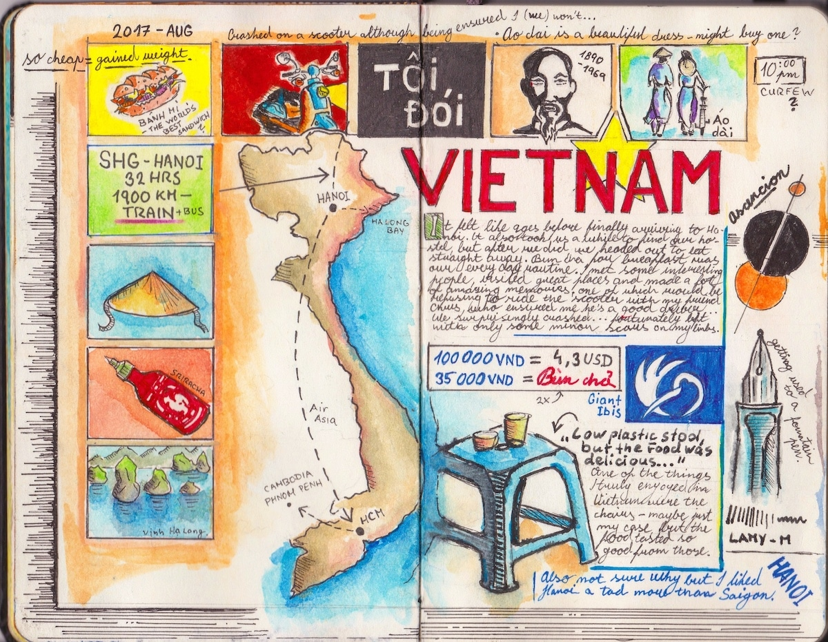 Travel Journal Ideas by Adam Hackländer