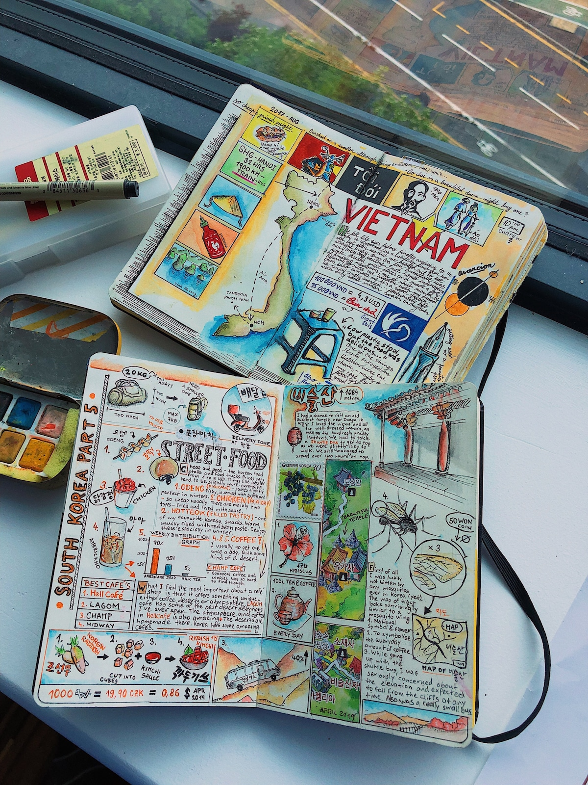 DIY Travel Journals by Adam Hackländer