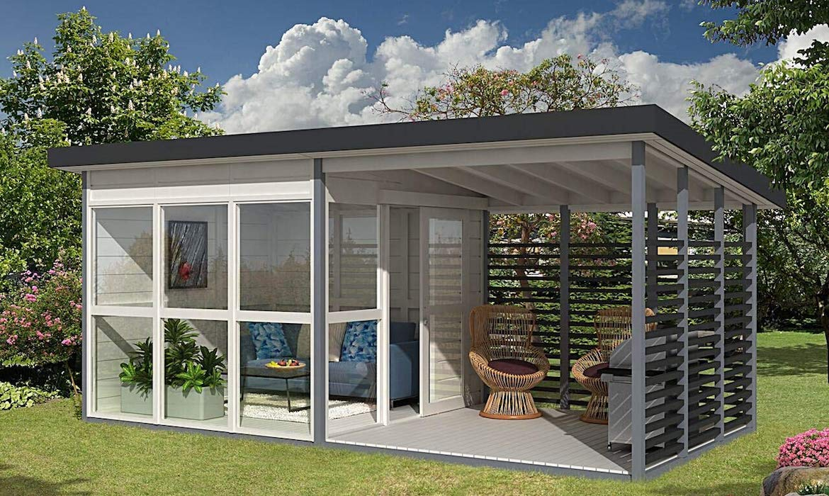 The Allwood Solvalla A Diy Guesthouse You Can Build In A Day