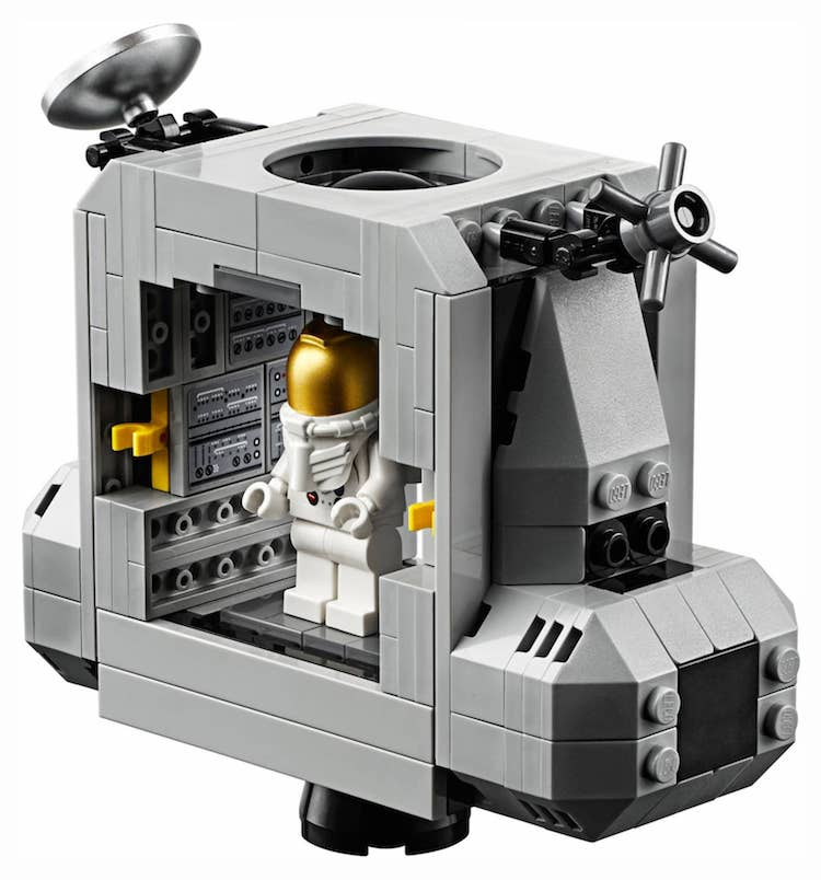 NASA Apollo 11 Lunar Lander LEGO Kit