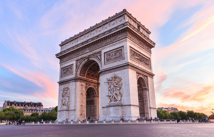 Arc de Triomphe Facts