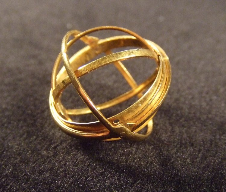 Armillary Ring - Moveable Jewelry