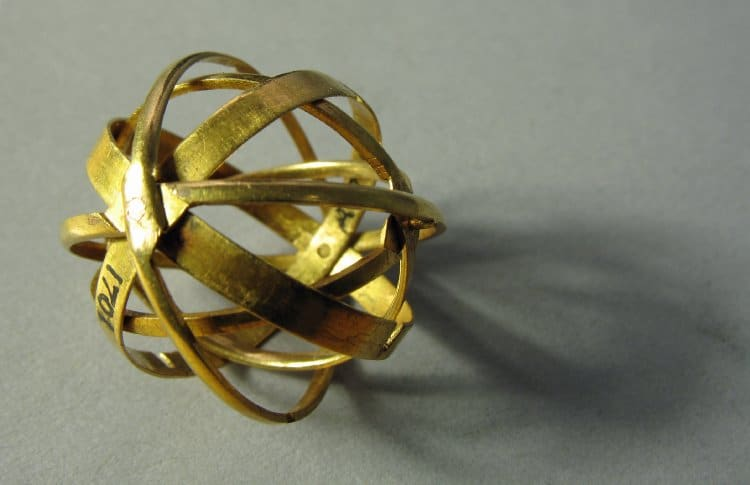 Armillary Sphere - Finger Ring