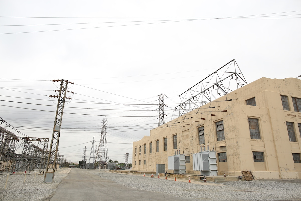Laguna Bell Electrical Substation