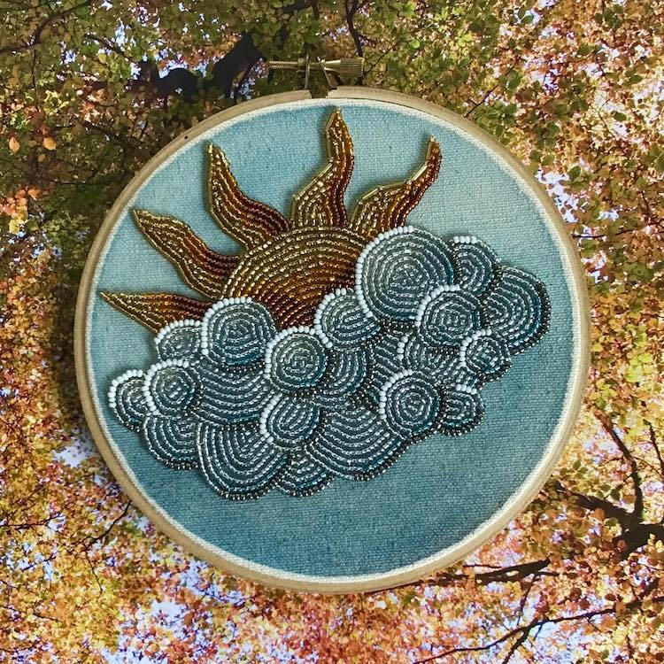 Bead Embroidery by Huberink