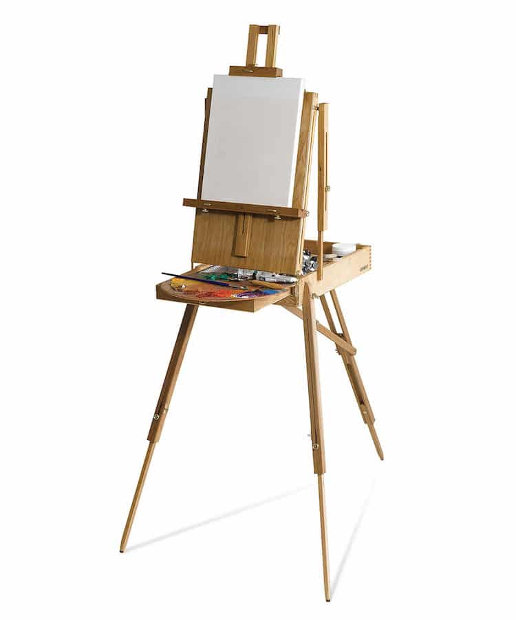 Wood French Easel