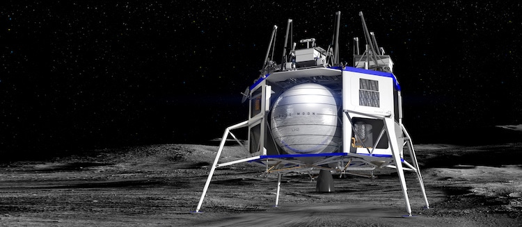 Blue Moon Lander by Blue Origin