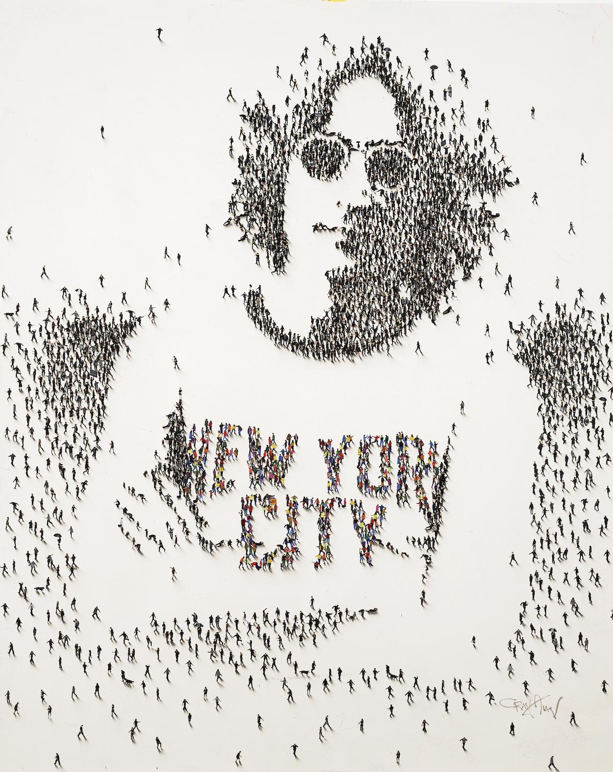 Retrato de John Lennon por Craig Alan