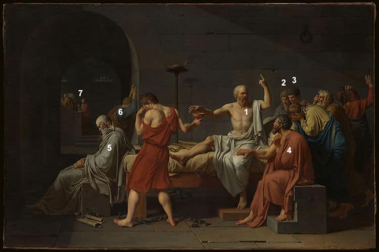 The Death of Socrates Figures