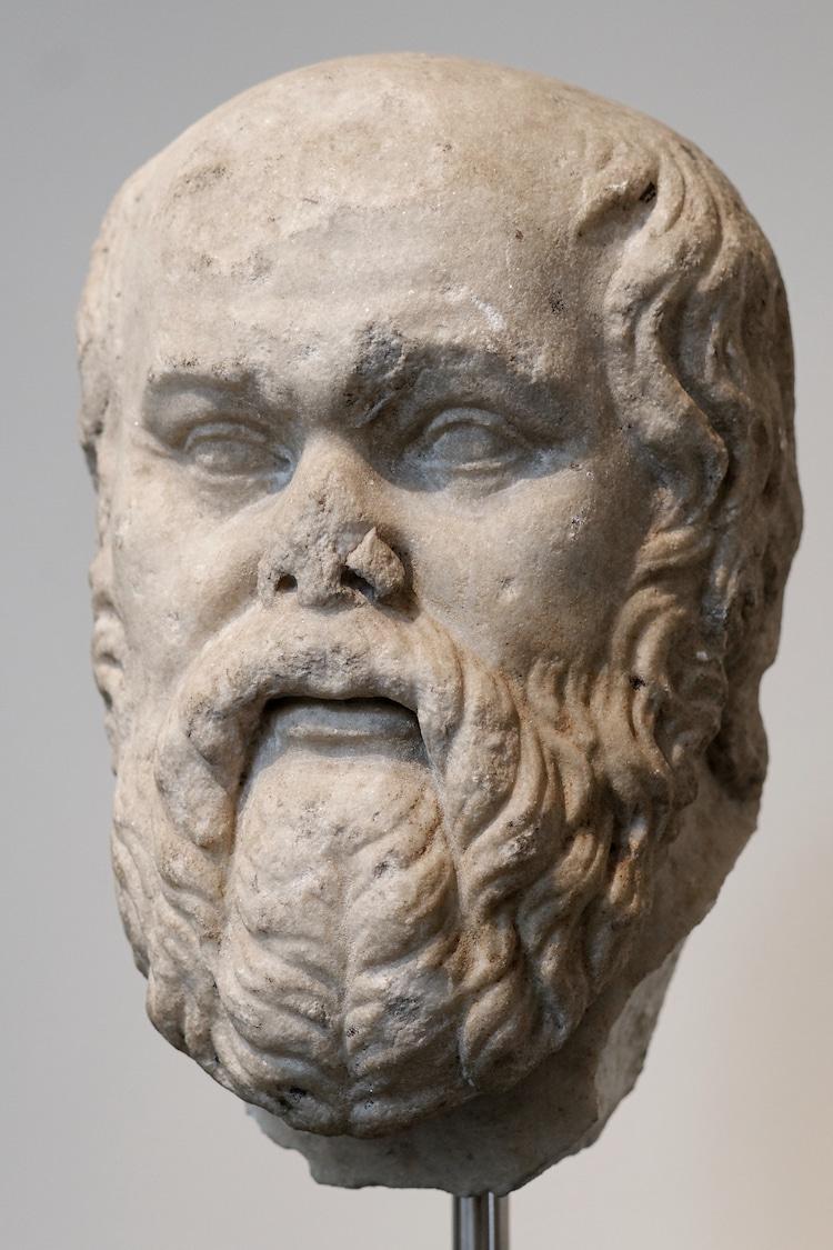 Socrates Bust