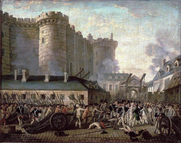pintura revolución francesa