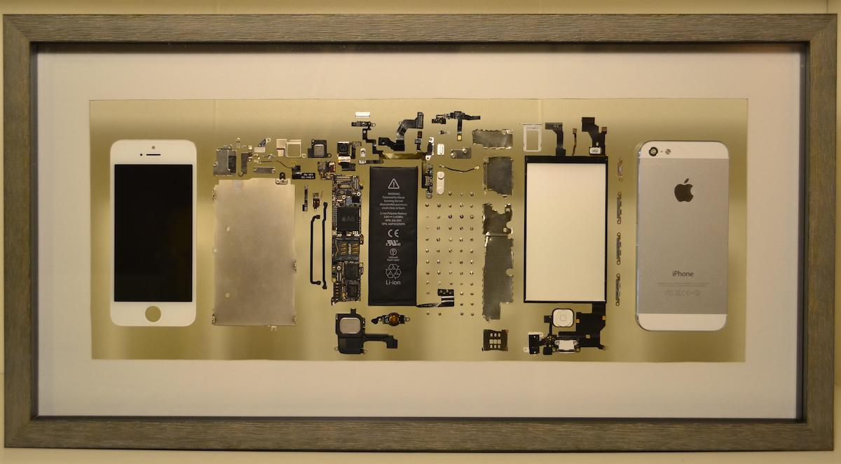 Framed iPhone Parts by TheIncorporeal