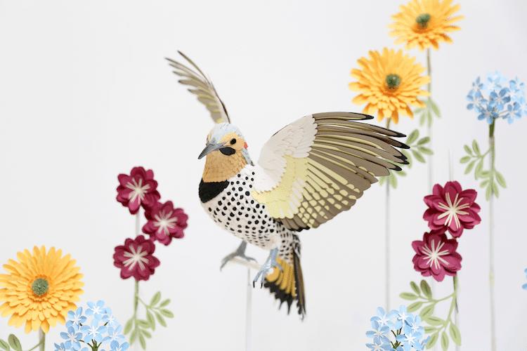 Pájaro de papel