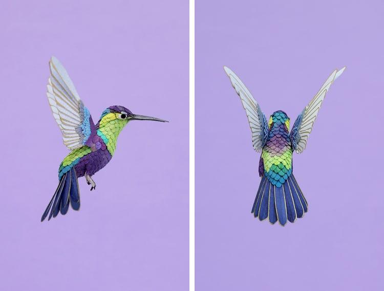Bird Sculpture Paper