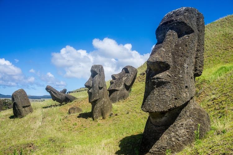 Moai ont des corps
