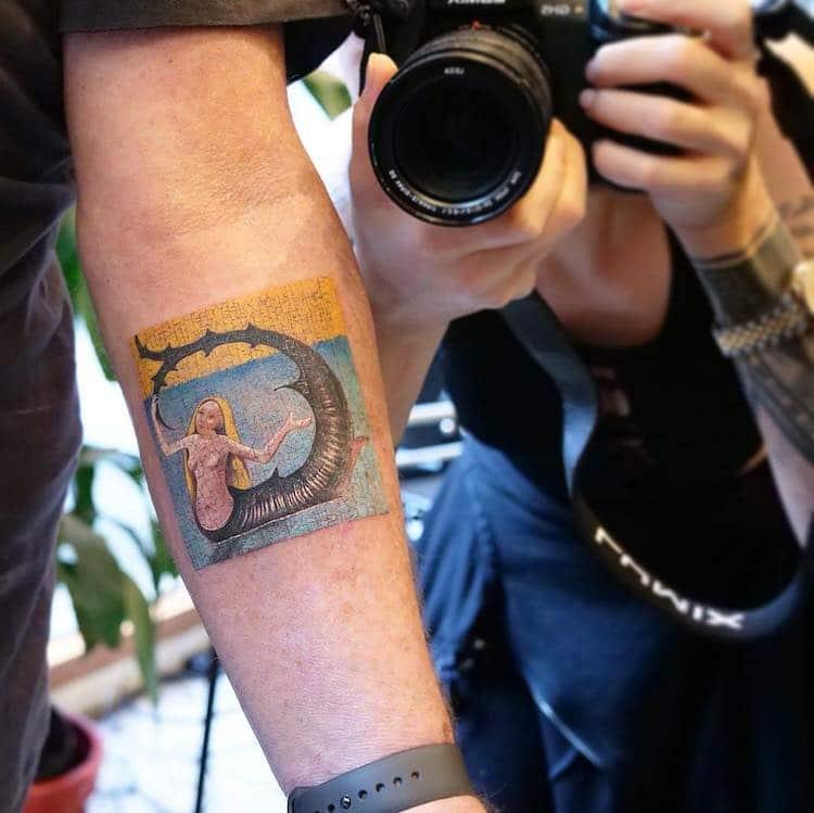 Art Inspired Tattoos by Eva Krbdk