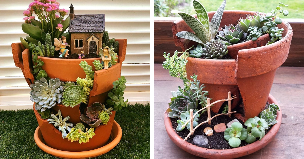 How To Create Fairy Gardens To Add A Little Magic To Your Home