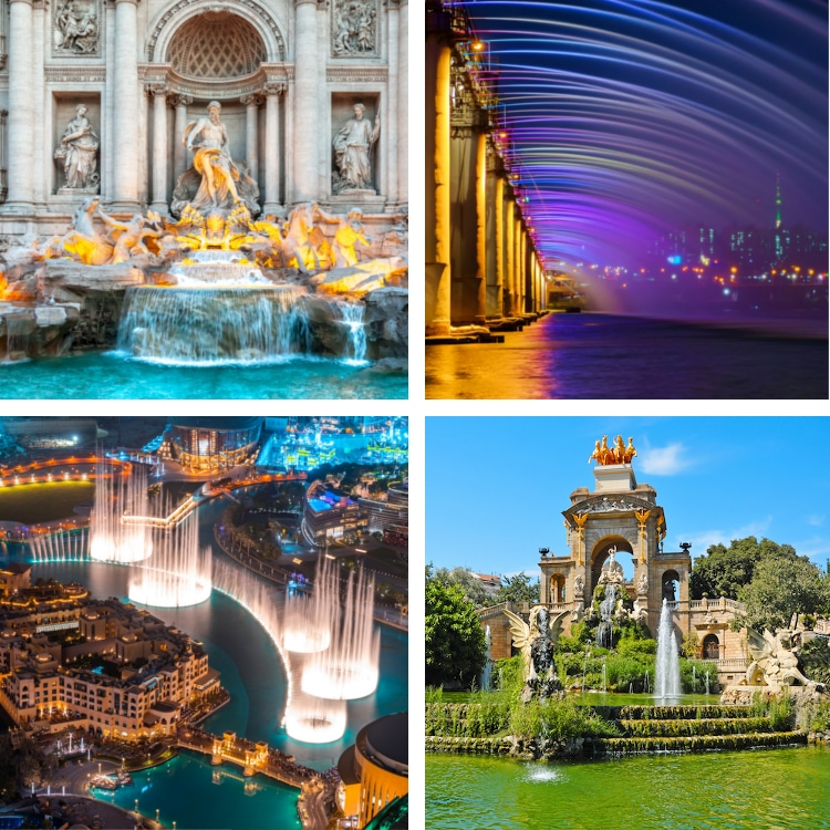 Famous Fountains Around the World