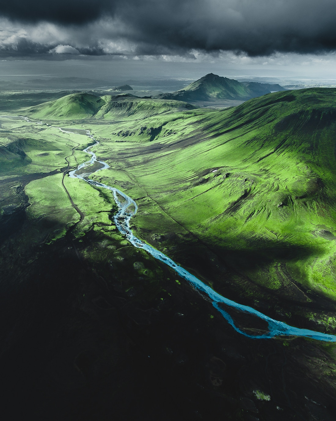 Aerial Photos of Iceland by Gábor Nagy