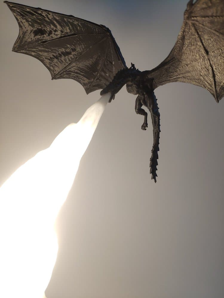 Game of Thrones Dragon Lamp by Kvant 3D Printing