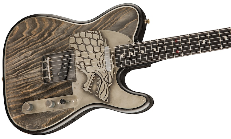 Game of Thrones Fender Guitar