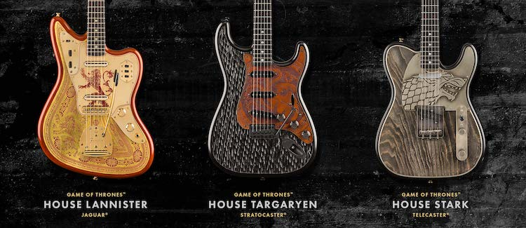 Game of Thrones Guitar by Fender
