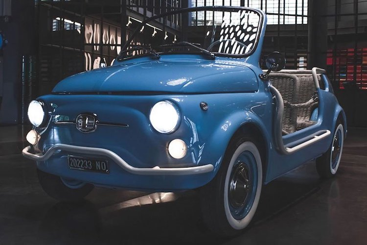 Electric Vintage Fiat 500 by Garage Italia