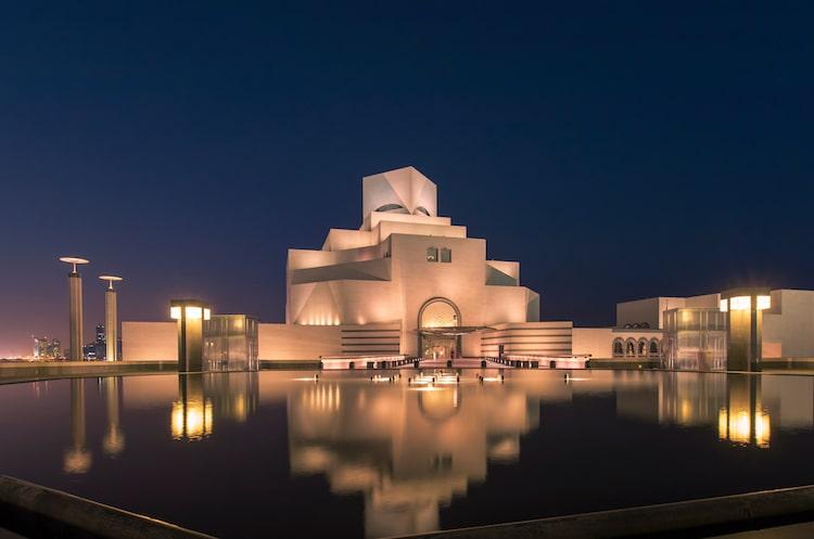 I.M. Pei Museo de arte islámico museos en qatar