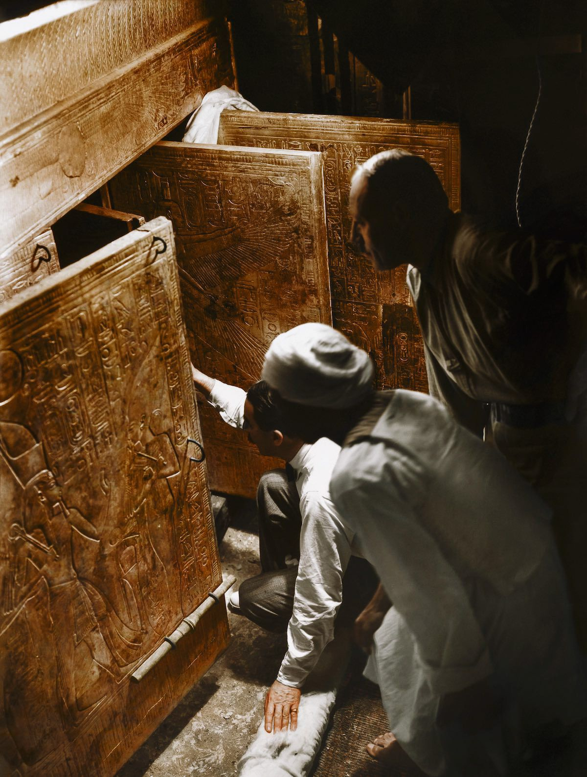 Egyptology in King Tut's Tomb