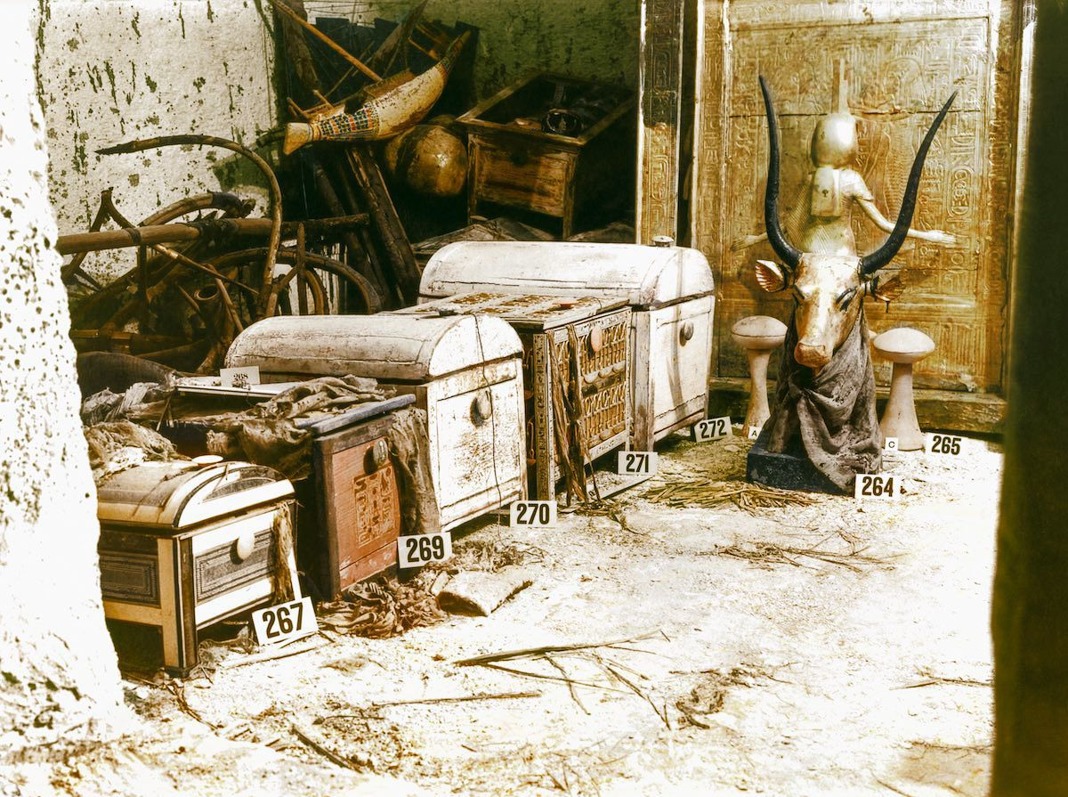 King Tut Tomb Discovery: Discovery Of King Tut's Tomb Told Through Colorized Photos
