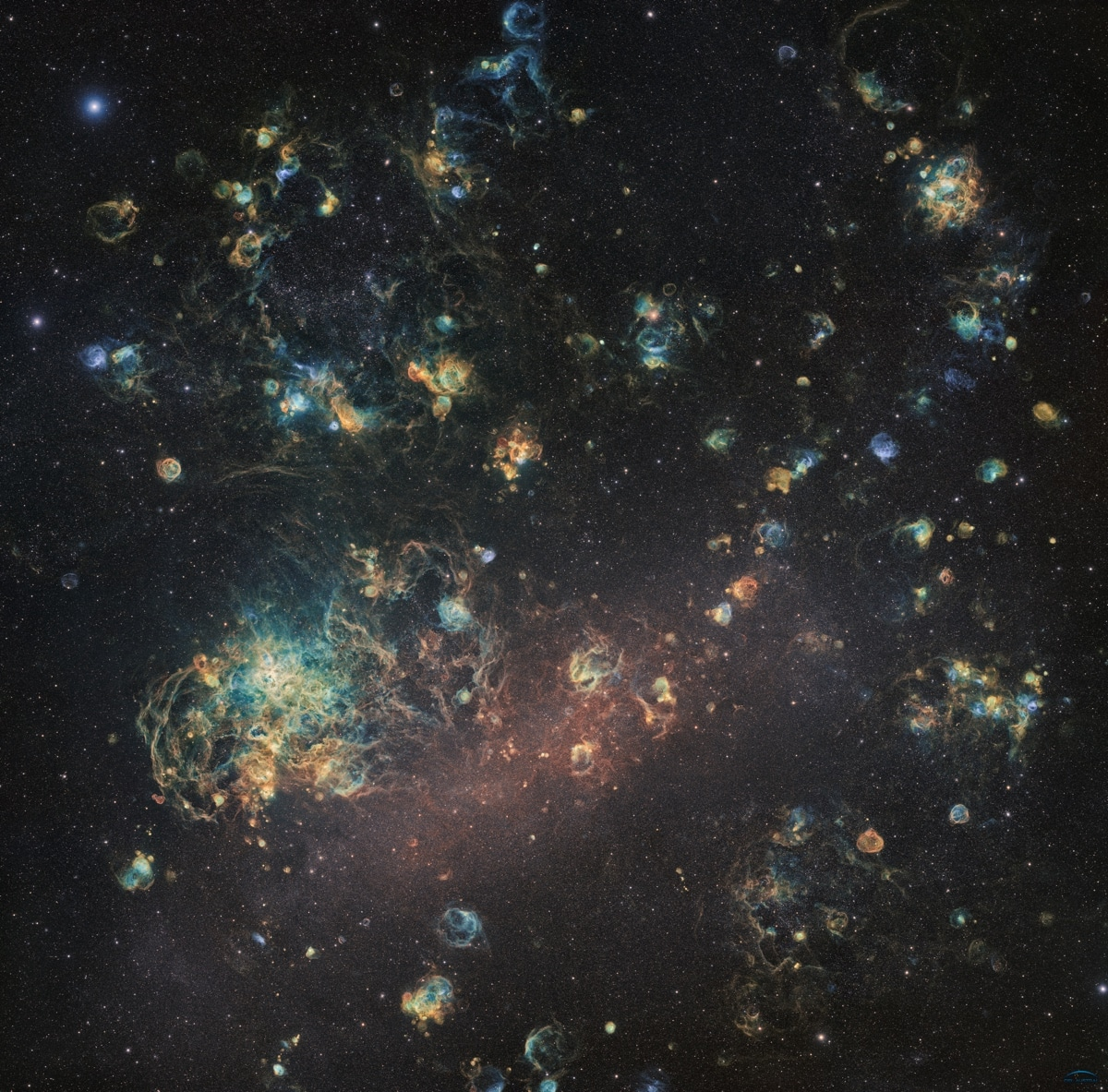 The Large Magellanic Cloud by Team Ciel Austral