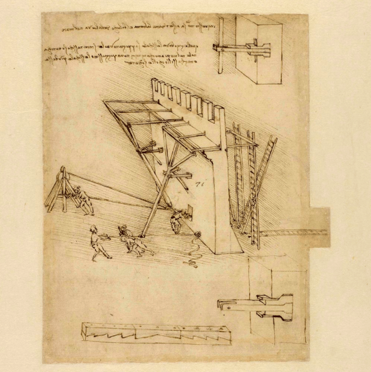 Leonardo da Vinci Codex Atlanticus Digitized