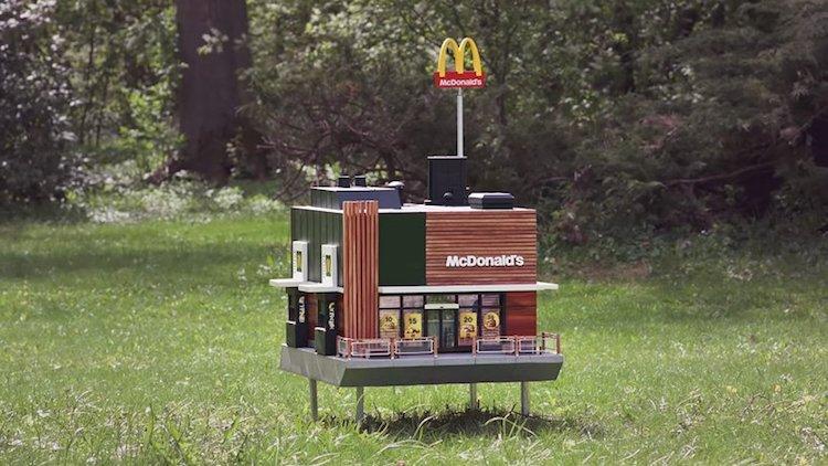 mcdonald's más pequeño del mundo