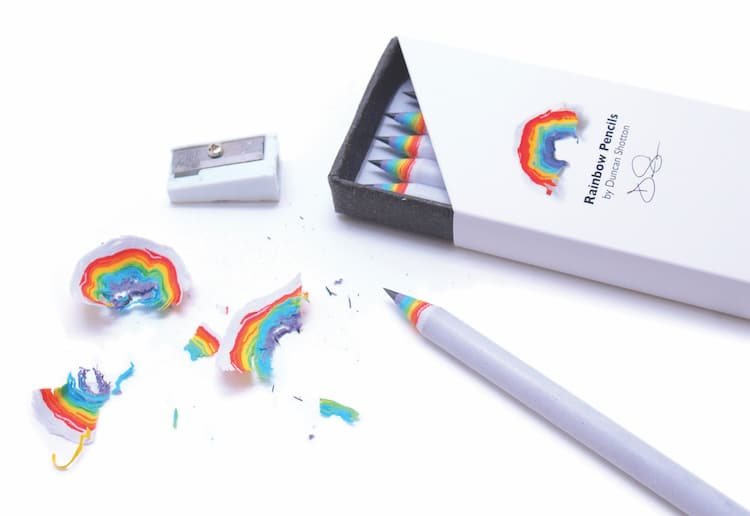 Rainbow Pencils at My Modern Met Store