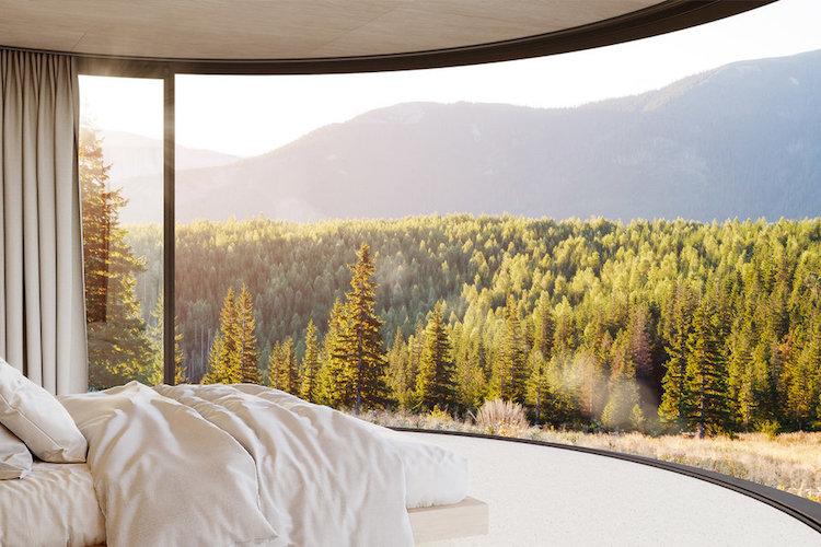 Modern Prefab Cabin LUMIPOD by Lumicene