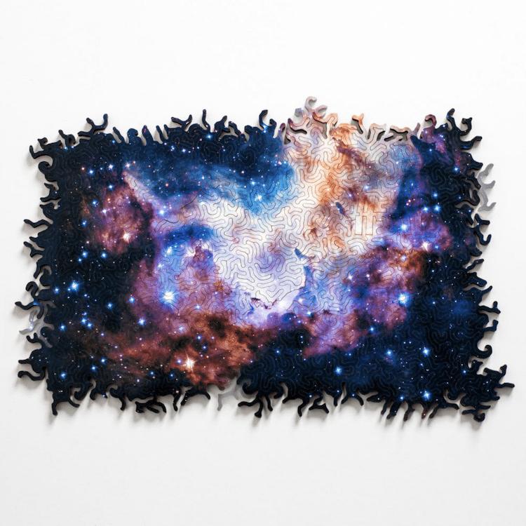 rompecabezas del espacio