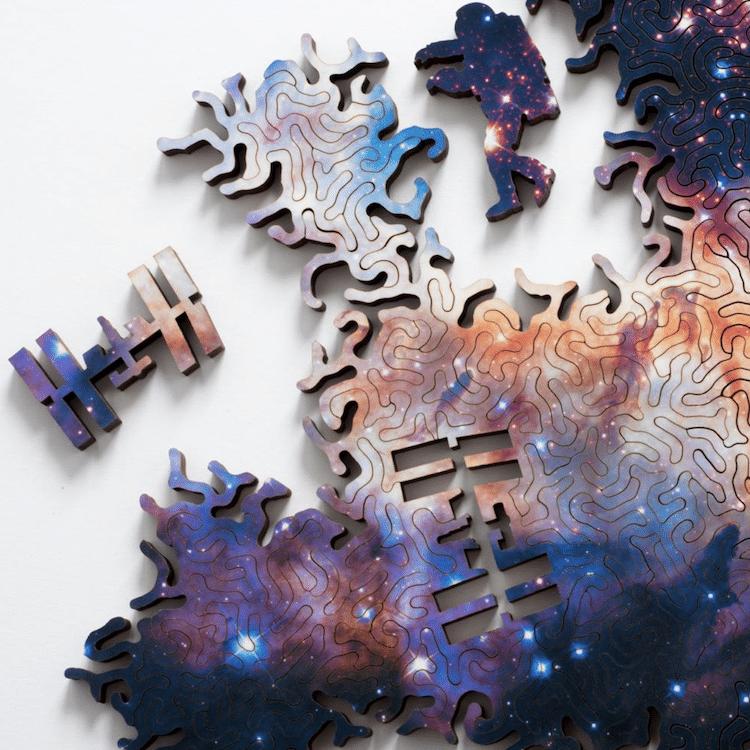 Infinite Galaxy Puzzle